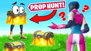Guess the Loot! *PROP CHEST* Game Mode! in Fortnite