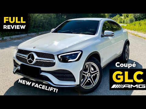2020 MERCEDES GLC 300 Coupé NEW Facelift AMG FULL Review Better than BMW X3?!