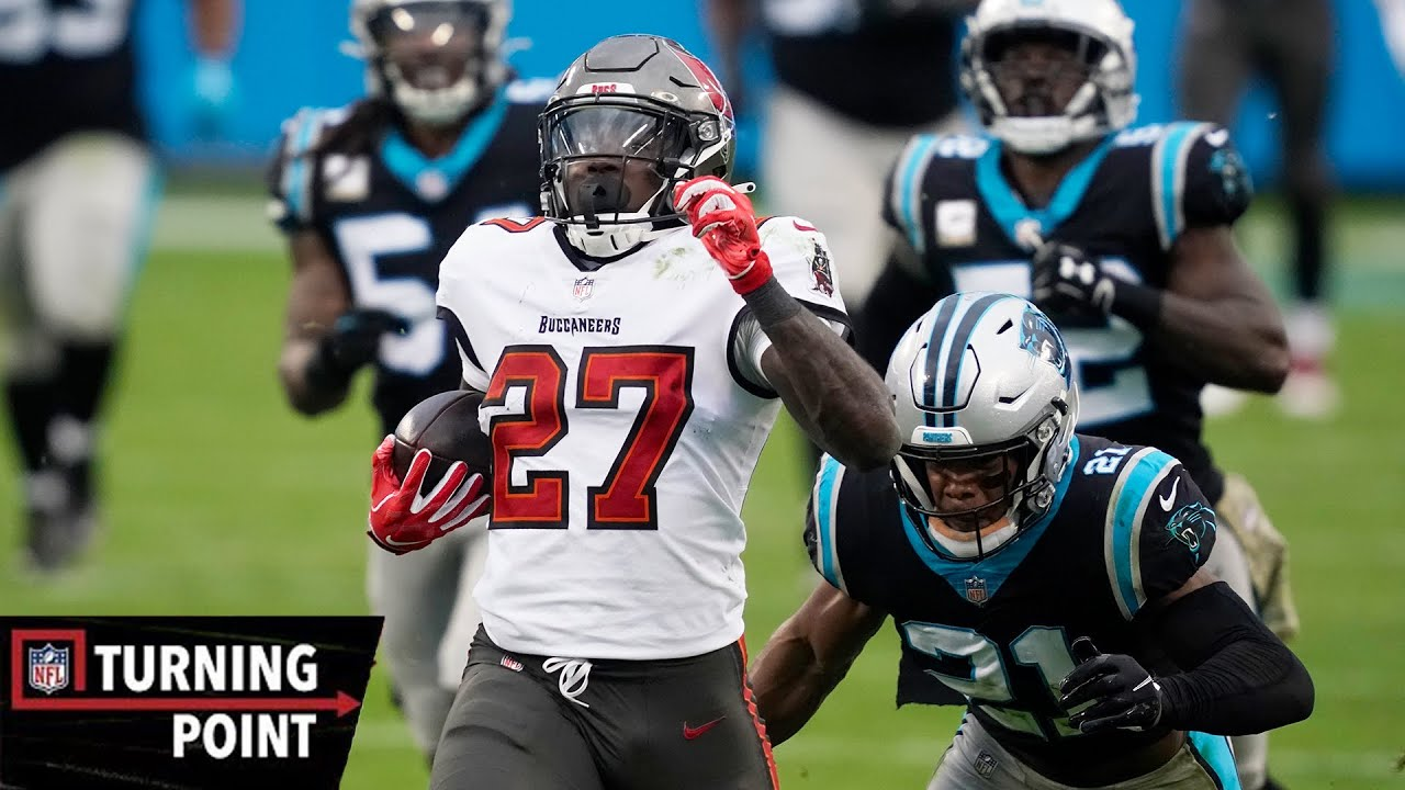 How Ronald Jones II Burned the Panthers in Week 10 | NFL Turning Point