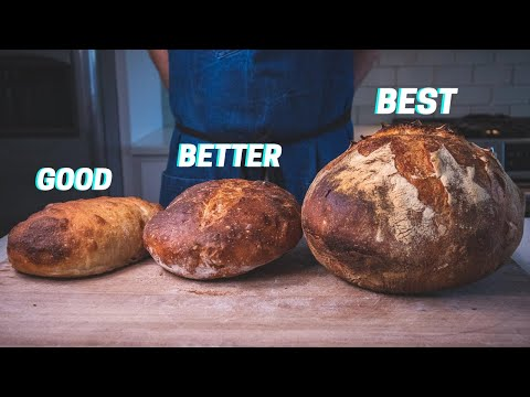 1 DOUGH 3 LOAVES | The Easiest (Actually Good) Bread You Can Make
