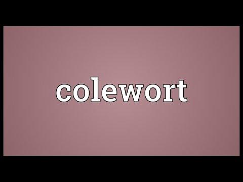 Header of colewort