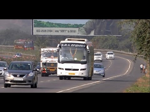 Mumbai Pune Expressway - One Of India's Fastest & Top Notch Expressway !!!