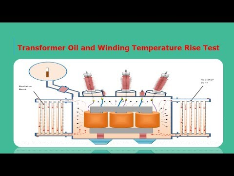 Transformer Oil and Winding Temperature Rise Test | universal clab