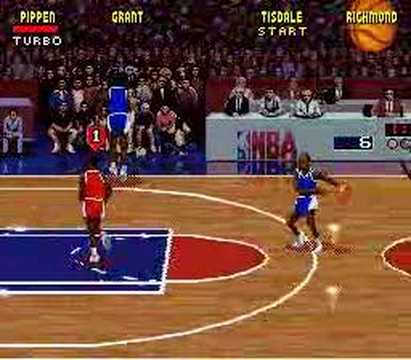 SNES NBA Jam