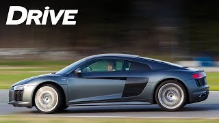 AUDI R8 V10 @ Serres Racing Circuit [English subtitles]