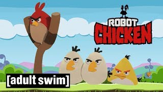 3 Mobile Games | Robot Chicken | Adult Swim