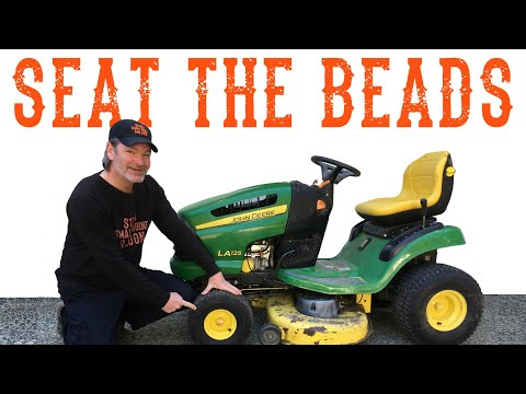 how-to-seat-the-beads-on-a-new-riding-lawn-mower-tractor-tire?---video