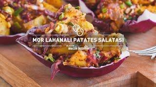 Mor Lahanalı Patates Salatası Tarifi #mucizelezzetler