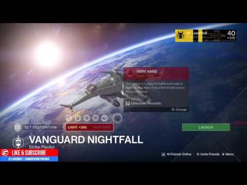 nightfall strike matchmaking