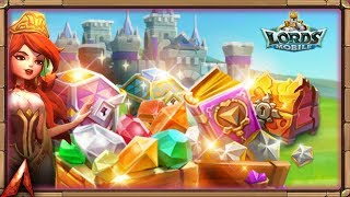Part 3! Opening Chests for E ! Lords Mobile