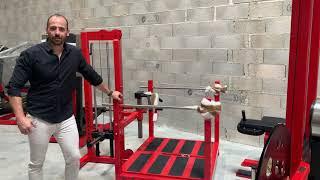 Watson Gym Equipment by Space X3 - France - Entrepôts et Showroom - Vidéo PARTIE 1.
