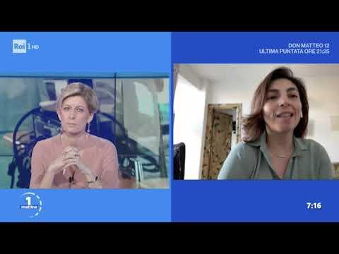 Laura Castelli ospite a UnoMattina Rai1 il 19-03-2020