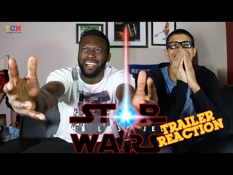 Star Wars The Last Jedi Teaser Trailer Reaction