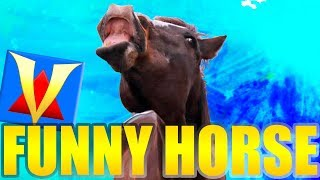 Free Funny HORSE RIDING Game! WITH JAVOTT!