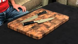 Wusthof Ikon vs. Shun Classic — 8 Inch Chef's Knife.