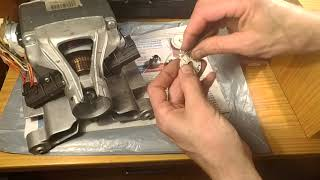 видео Ремонт мотора стиральной машины