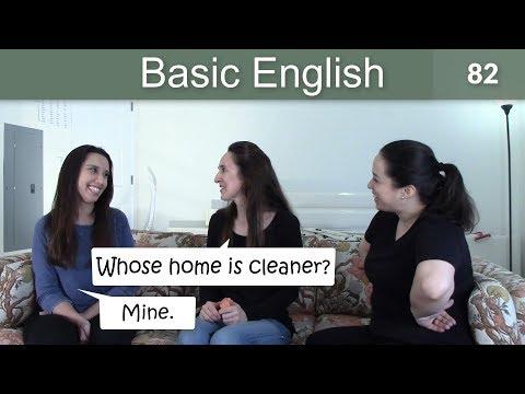 Lesson 82 ????? Basic English with Jennifer ????????????Comparative Adjectives (-er)