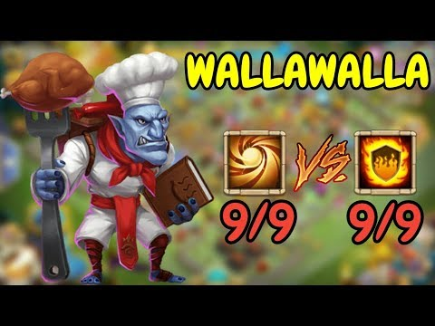 9SL VS 9FG Walla Walla L Castle Clash