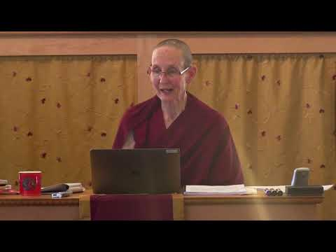 """09A """"Illumination of the Thought"""" Review Session with Ven. Tenzin Tsepal 10-27-20"""