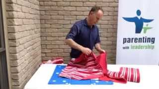 How to fold towels with the flip fold