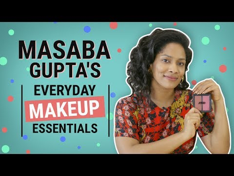 Masaba Gupta: What's in my makeup bag | Pinkvilla | Fashion | Bollywood