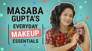 Video Masaba Gupta: What's in my makeup bag | Pinkvilla | Fashion | Bollywood download MP3, 3GP, MP4, WEBM, AVI, FLV Mei 2018