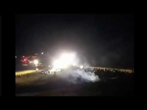 PIPELINE LIVE 11/20/2016 Standing Rock North Dakota Oil Pipeline Protestors ATTACKED - LIVE