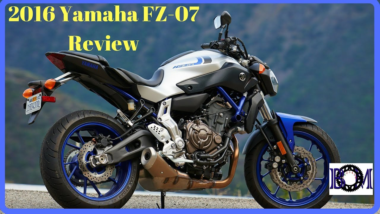 2016 yamaha fz 07 mt 07 review doovi