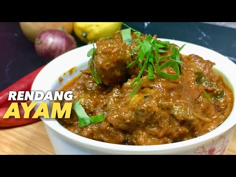 resepi-rendang-ayam-simple-mudah-dan-sedap-|-chicken-rendang-recipe