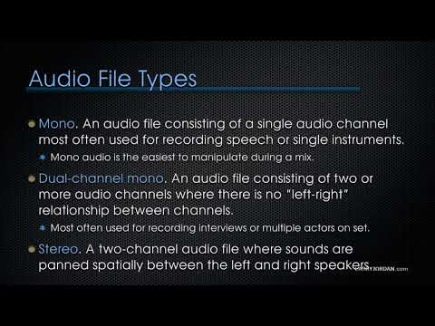 Final Cut Pro X Audio Fundamentals: Define Audio Terms