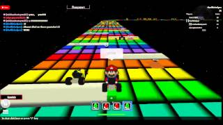 Mario Kart Rainbow Road - Roblox