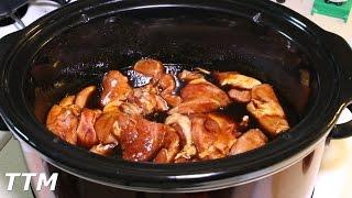 Crock Pot Pork Chops~Easy Teriyaki Pork Chops in the Slow Cooker