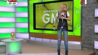 Маша Гойя в программе  Гутен Морген м1