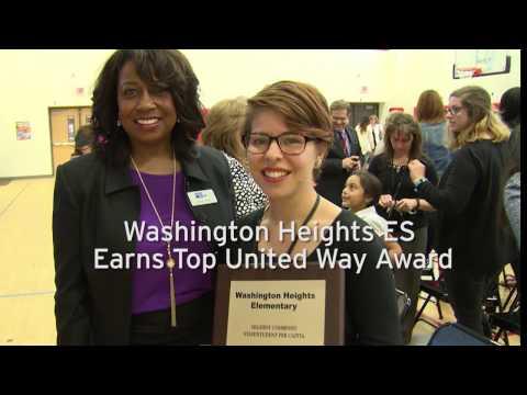 Washington Heights ES Earns Top FWISD United Way Award