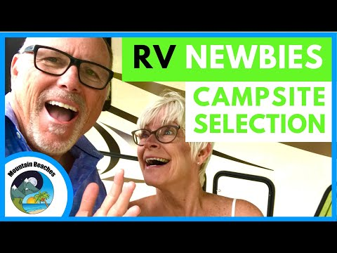 RV NEWBIE TIPS | Finding the Perfect Campsite | Mountain Beaches