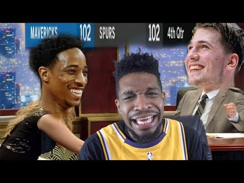 THE LUKA & DEROZAN OVERTIME SHOW! SPURS vs MAVERICKS HIGHLIGHTS Mp3