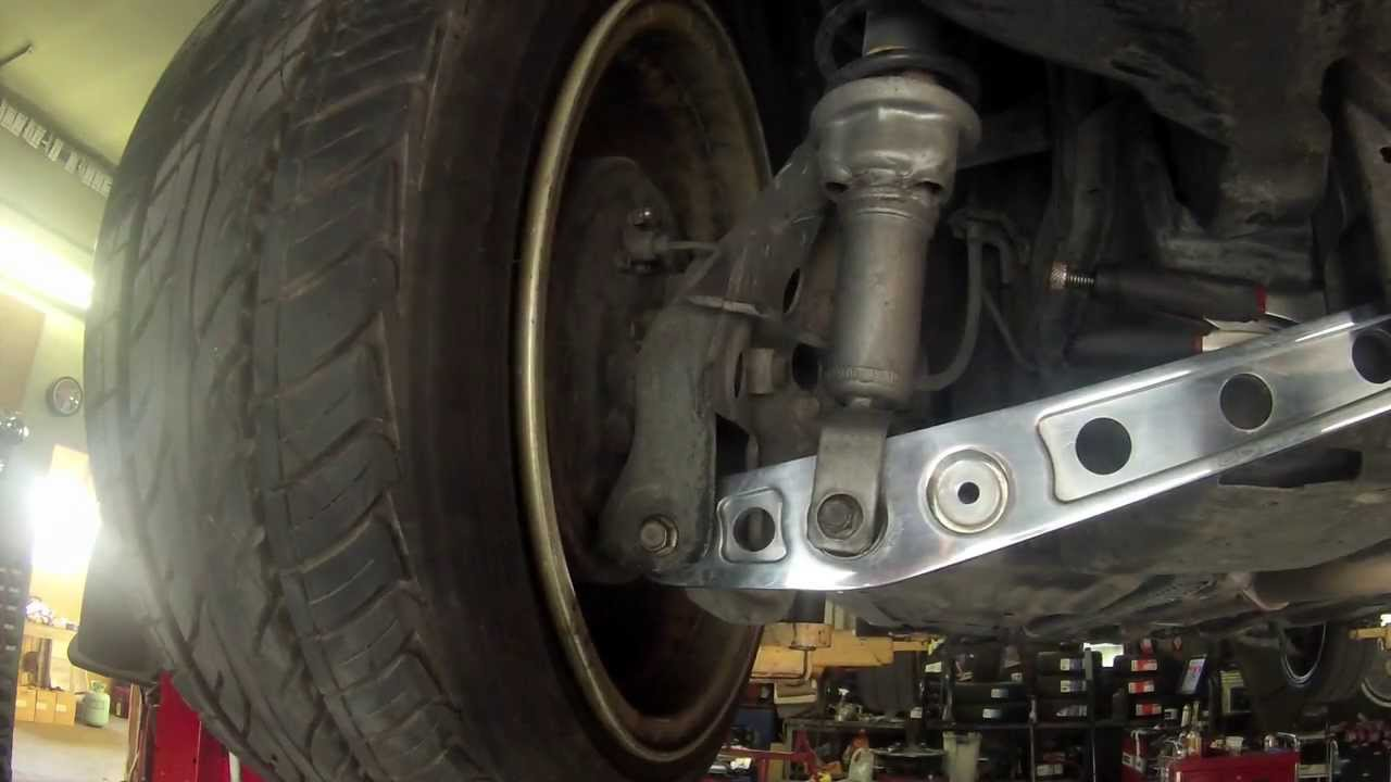 low control arm civic 96  YouTube