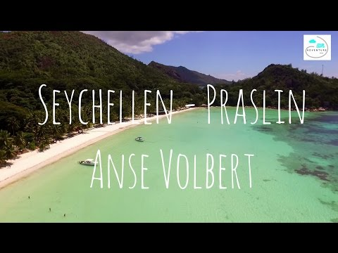 Beach Guide Seychelles by drone - Anse Volbert (Part. 3)