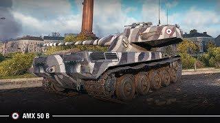 AMX 50 B   11К урона с нервной развязкой