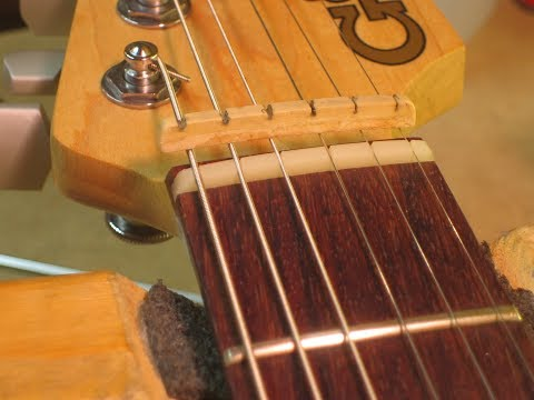 A Detailed Tutorial On Guitar Nut Replacement