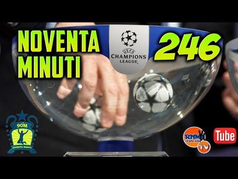 90 MINUTI 246 Real Madrid - PSG Sorteo Champions y Mundial de Clubes (11/12/2017)