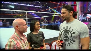 Roman Reigns honors an American hero