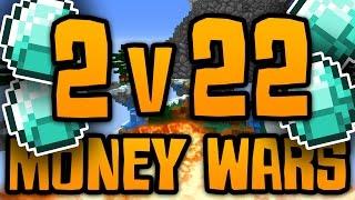 minecraft money wars 3 2 versus 22 new map