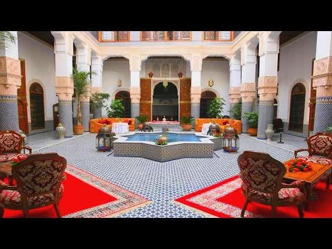 Masterpieces of authentic Moroccan salon
