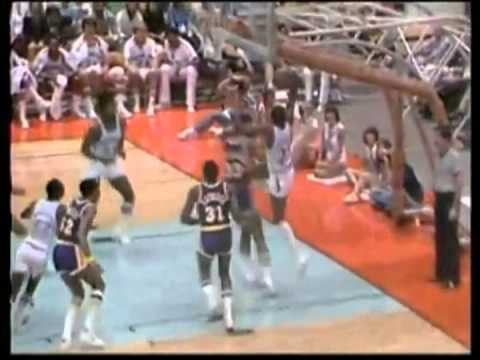 Joe Bryant: (Kobe's Dad) Amazing Verticle Leap Slam Dunk Vs Los Angeles