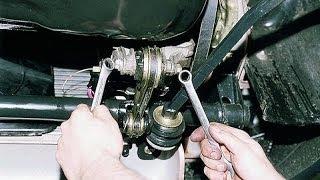 Передняя опора двигателя. ВАЗ 2112. Снятие.
