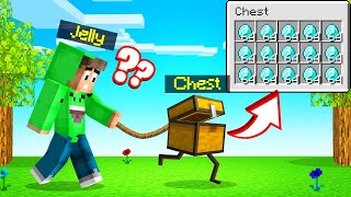 MINECRAFT But CHESTS ARE ALIVE! (Pet Chest)
