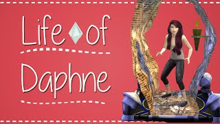 The Sims 4 | Life of Daphne: Save Blaine from Bicblock! [11] | Mousie