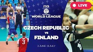 Czech Republic v Finland - Group 2: 2017 FIVB Volleyball World League