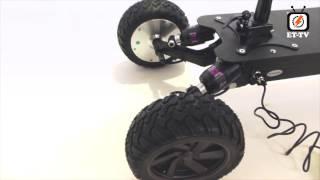 Et-Tv - AQIHO HUMMER 36V Обзор трехколесного электросамоката